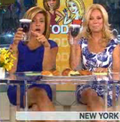Kathie Lee and Hoda with Sippy Cups